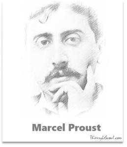 """""""On ne guérit d'une souffrance qu'à condition de l'éprouver pleinement."""" [Marcel Proust]"""