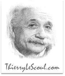 """ThierryLeScoul.com - Alber Einstein""""L'imagination est plus importante que la connaissance."""" [Albert Einstein]"""
