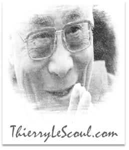 """""""Il n'est pas important qu'un être soit croyant ou non, l'important est qu'il soit bon."""" [Dalaï Lama]"""