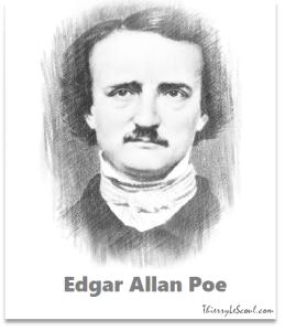"""""""Le vrai est qu'il est aussi impossible de concevoir l'esprit que d'imaginer ce qui n'est pas."""" [Edgar Allan Poe]"""