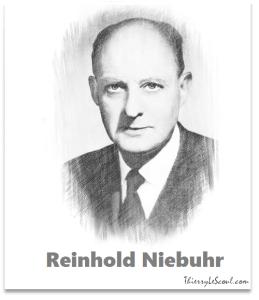 """"""" Avoir le COURAGE de CHANGER ce qui peut l'être, la SERENITE d'ACCEPTER ce qui ne peut l'être et la SAGESSE de DISCERNER l'une de l'autre."""" [Révérend Reinhold NIEBUHR]"""