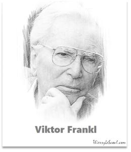 """""""Le prisonnier qui ne croyait plus à l'avenir - son avenir - était perdu. En perdant cette foi, il perdait sa spiritualité : il se laissait dépérir moralement et physiquement."""" [Victor Frankl]"""