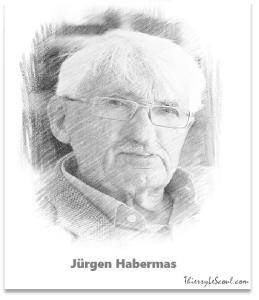 """""""La biotechnologie permettant désormais d'envisager des interventions conséquentes sur le génome humain, on assiste à la disparition progressive de la frontière entre la nature que nous sommes et l'équipement organique dont nous nous dotons. """" [Jürgen Habermas]"""