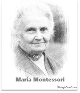 """""""Établir la Paix durablement est le travail de l'éducation. La politique ne peut qu'éviter la Guerre."""" [Maria Montessori]"""