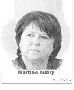 ThierryLeScoul - Martine Aubry