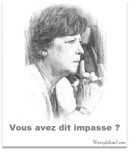 ThierryLeScoul - Martine Aubry - Le Monde - Trop c'est trop - Sortir de l'impasse